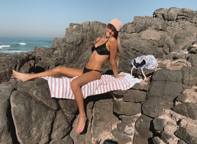promotional model: Mika O in Cape Town