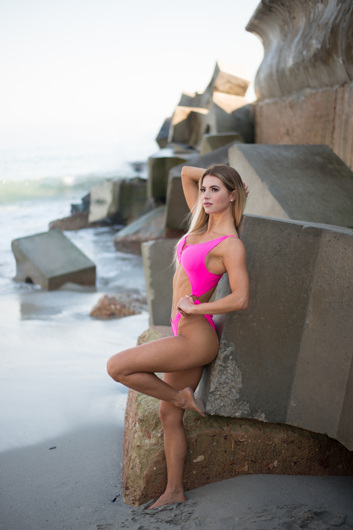 promotional model: Melissa R in Cape Town