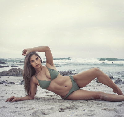 promotional model: Andrea Jade A in Cape Town