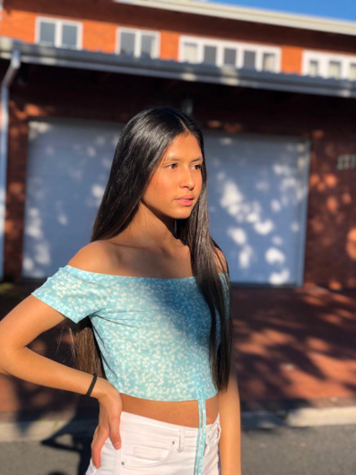 promotional model: Camryn J in Cape Town