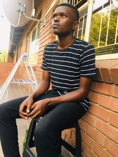 promotional model: Desmond S in Witbank