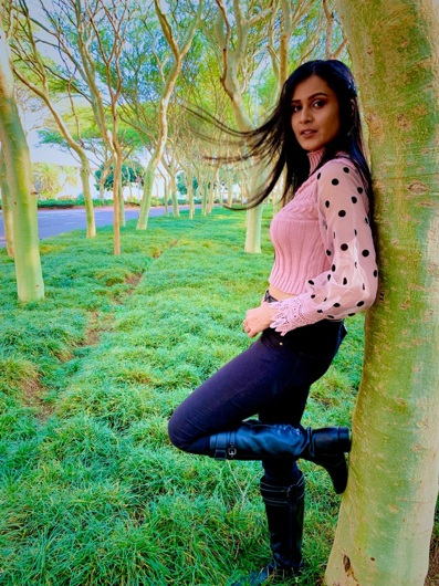 promotional model: Suman D in Durban