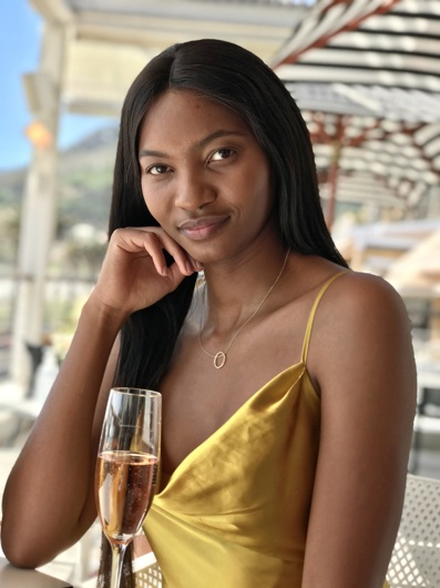 promotional model: Chwayita B in Cape Town