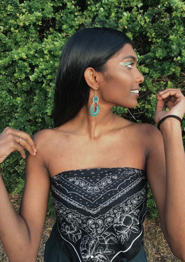 promotional model: Calley R in Cape Town