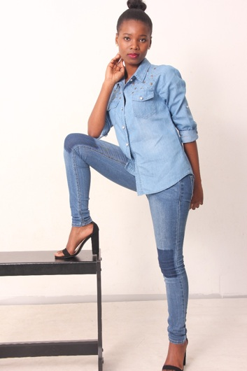 promotional model: Nthakoana Beatrice M in Cape Town