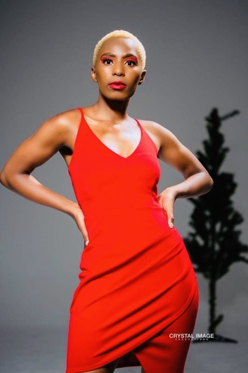 promotional model: Khanyisa M in Cape Town