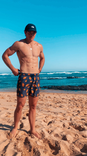 promotional model: Peter F in Cape Town