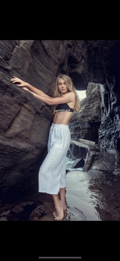 promotional model: Paige M in Cape Town