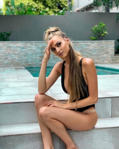 promotional model: Ashleigh C in Cape Town