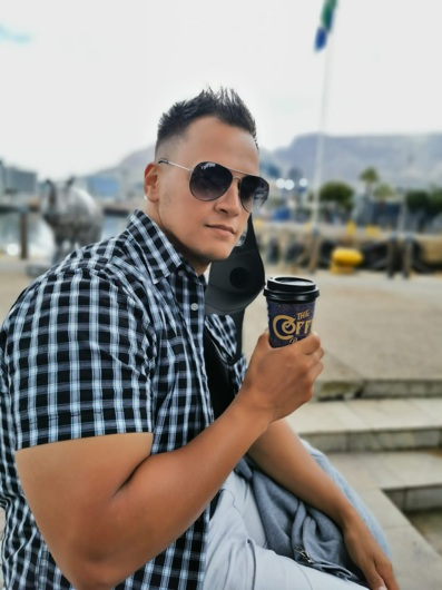 promotional model: Ryan A in Cape Town
