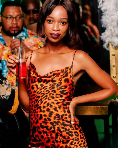 promotional model: sindy S in Cape Town