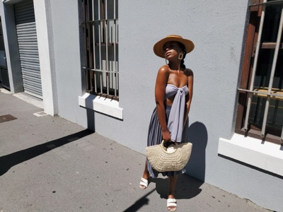 promotional model: Xola D in Cape Town