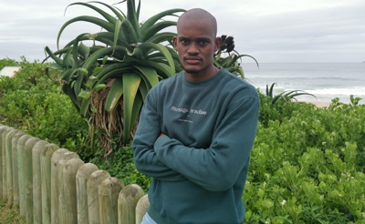 promotional model: Kevin M in Durban