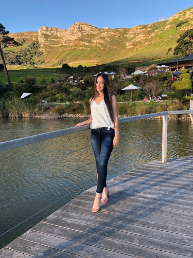 promotional model: Sabatina C in Cape Town