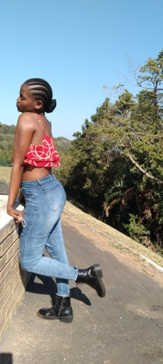 promotional model: Wendy S in Durban