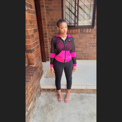 promotional model: Mbali S in Soweto
