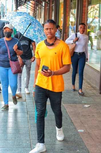 promotional model: Tony T in Cape Town